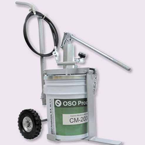Inyector mecánico de cubeta 2031 y 2040