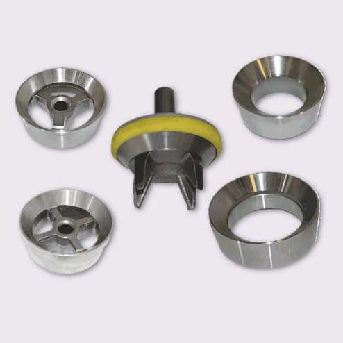Válvulas y asientos de presión estándar